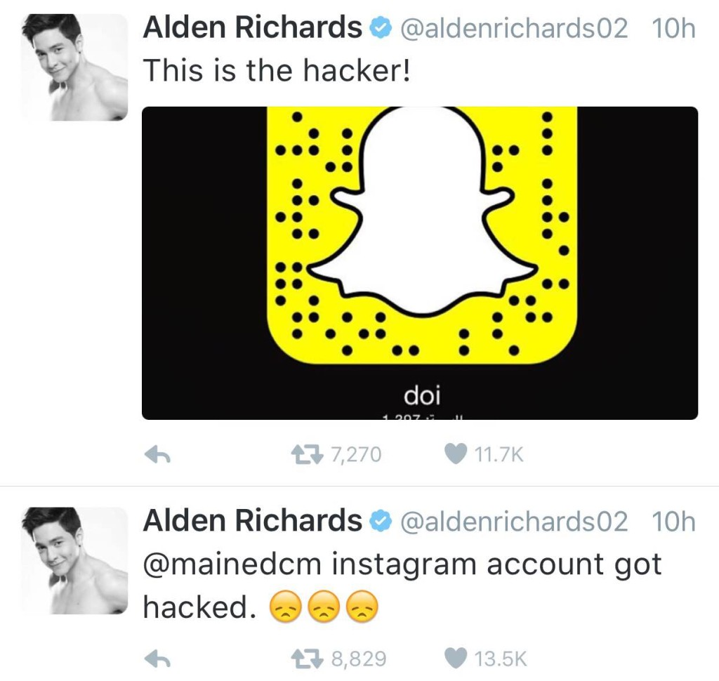 Alden Richards tries to help Maine Mendoza