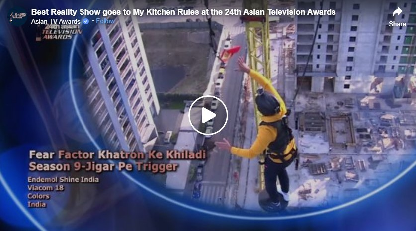 best reality show goes to my kitchen rules at the 24th asian television awards