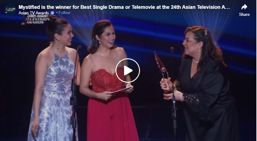 mystified is the winner for best single drama or telemovie at the 24th asian television awards