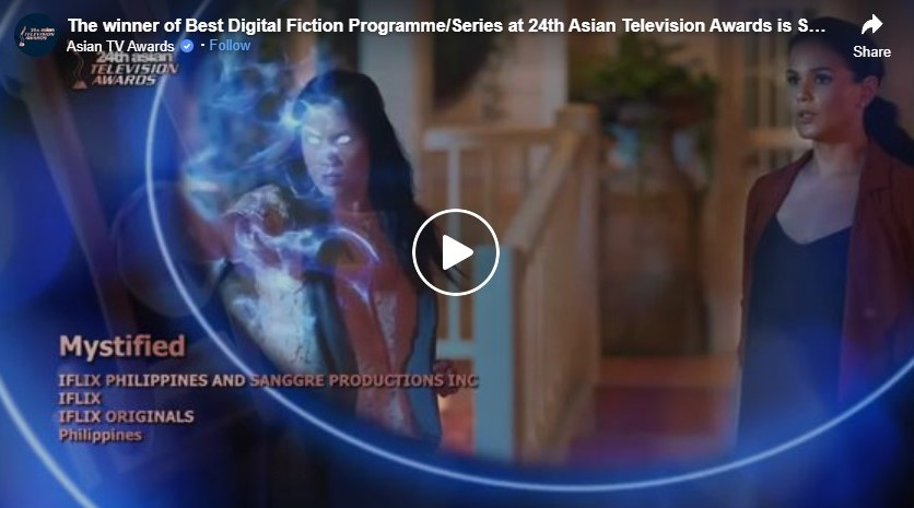 the winner of best digital fiction programme series at 24th asian television awards is social syndrome